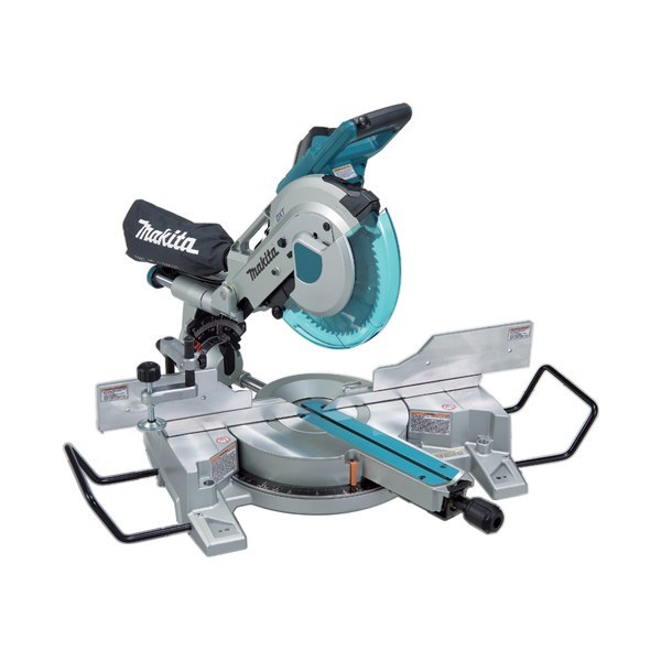 Makita LS1016 is one of the best Cordless Mitre Saws, which can be efficiently used for deep cutting of larger workpieces. The 3 stage reduction gear assembly and movable rear blade guard allows it to achieve larger capacities. The features like a double sliding mechanism and a double sliding guide fence make Makita 255mm Slide Compound Saw a good choice among this type of cordless tool.