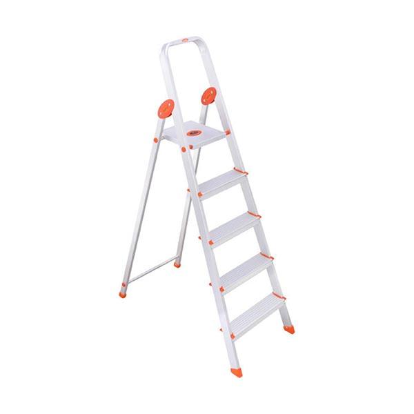 Pleasant Bathla 4Sl 4 Step Foldable Aluminium Sure Step Handy Ultra Stable Ladder Bralicious Painted Fabric Chair Ideas Braliciousco