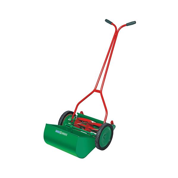 Buy Max Green MSW12 - 12 inch Side Wheel Manual Lawn Mower Online ...