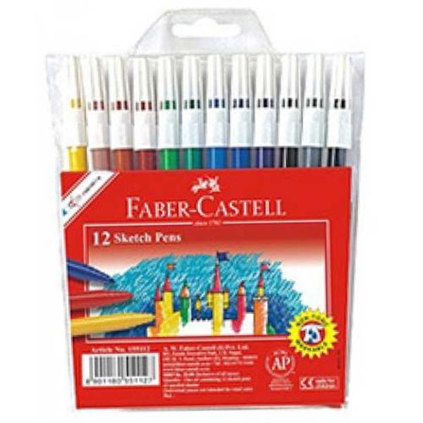 buy faber castell f1130225181012  sketch pens 12 sets