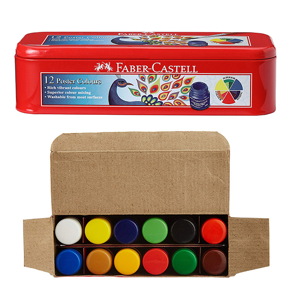 buy faber castell f1190277317012  student poster tin