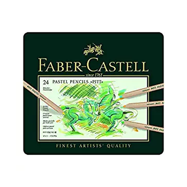 buy faber castell f9170355447024 - 24 pitt pastel pencil