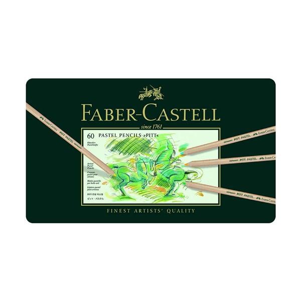buy faber castell f9170355445060 - 60 pitt pastel pencil