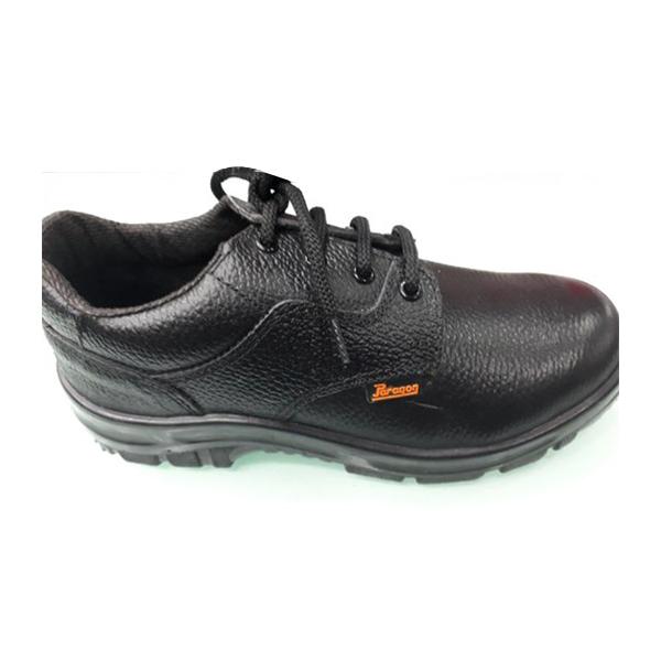 Black PU Sole Protective Shoes