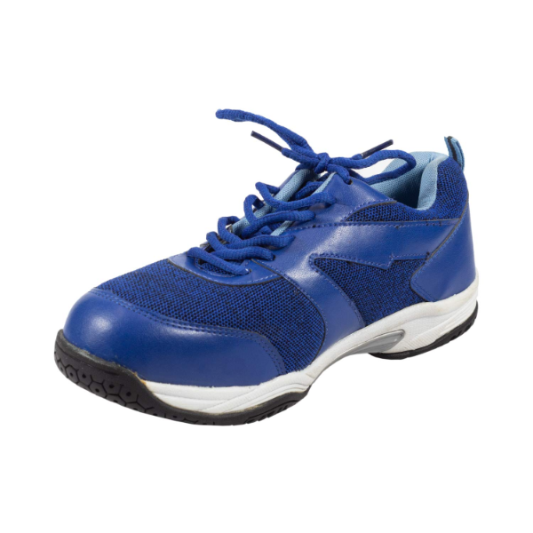Blue Sporty Safety Shoes Online at Best