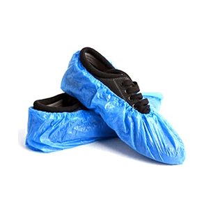 Dutch Impex - Disposable LD Shoe Cover - It is soft, lightweight, comfortable, and easy to wear. It has soft durable elastic at the ankle for a snug and secure fit. It is healthy, non-irritant, and economical. It is disposable so suitable for single-use applications. It is widely used in the cleaning room, labs, food processing, hospitals, parlors, and multipurpose use. It is used for avoiding any type of damage to the shoes. It is resistant to dirt, chemicals, and other abrasives and damaging substances.