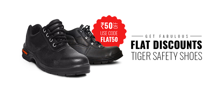 Tiger Steel Toe Safety Shoes