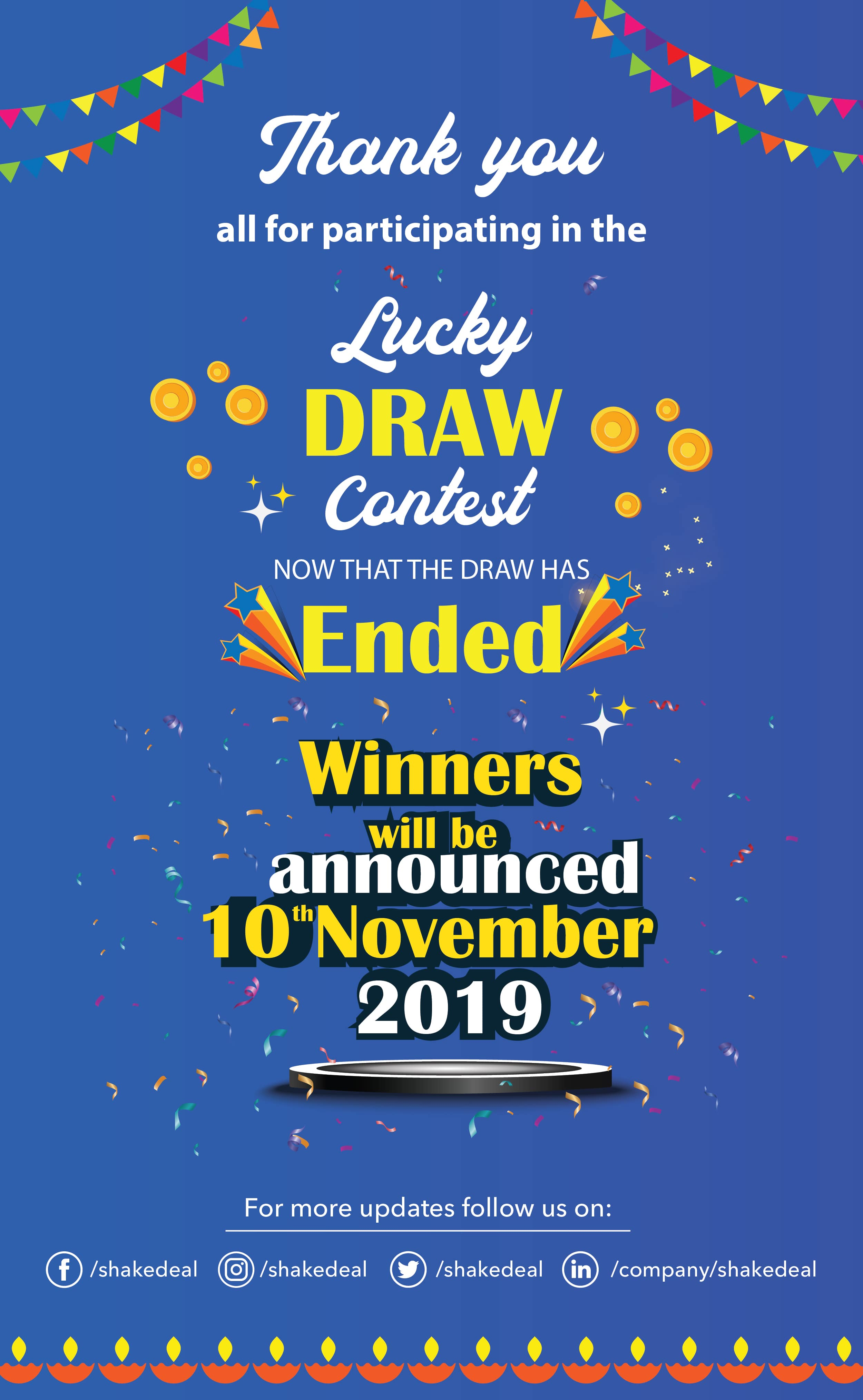 Shop on shakedeal this diwali and stand a chance to win Gold