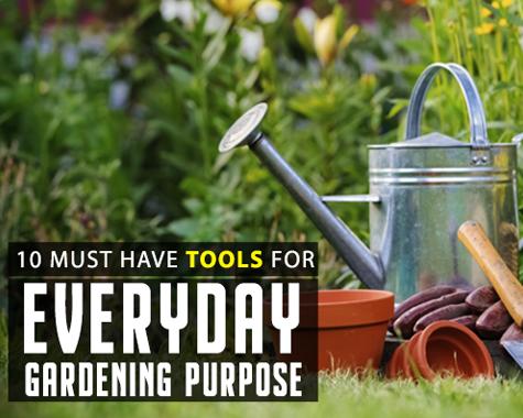 Gardening Purpose