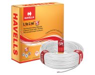 Havells WHFFDNWA16X0 - 6.0 sq mm White Life Line Plus S3 HRFR Cable