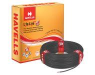 Havells WHFFDNKA1X50 - 0.5 sq mm Black Life Line Plus S3 HRFR Cable
