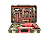 Foster FK 5513 Pro - 650 W Professional Power and Hand Tool Kit