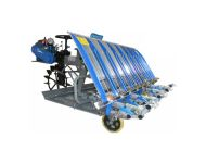 KisanKraft KK RRT 8R - 4 Hp, 8 Row Mini Paddy Transplanter