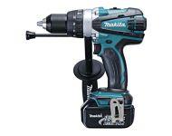 Makita DHP458RFE - 13mm Cordless Hammer Driver Drill