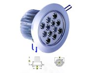 Noble Electricals NE/DL 12*1 - 14.4W, 12V DC LED Directional Downlight