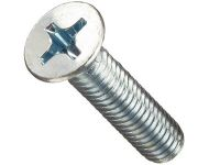 GEARTEK FASTOOLS Stainless Steel 304 Grade PAN Phillips Machine Screw DIN7985 Diameter 2.5mm Length 15mm