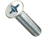 GEARTEK FASTOOLS Stainless Steel 304 Grade PAN Phillips Machine Screw DIN7985 Diameter 6mm Length 10mm
