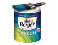 Berger 534 - 4 Litres Ceiling White Color Rangoli Total Care Emulsion