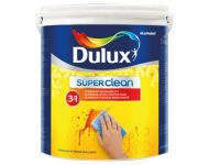 Dulux 23 8200 - Super Clean 3 in 1 Brilliant White 10 Litres