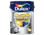 Dulux 76 1000 - Weathershield Powerflexx Brilliant White 4 Litres