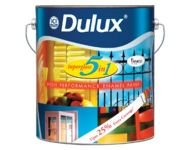 Dulux Group 3 - Super Gloss 5 in 1 Shades Royal Ivory 4 Litres