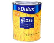 Dulux 28 4000 - Gloss Synthetic Enamel Blazing White 10 Litres