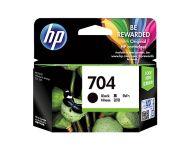 HP 704 - Black Inkjet Cartridge