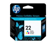 HP 22 - Tricolor Inkjet Cartridge