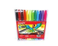 Luxor 976 Y - Set of 12 Assorted Sketch Pens