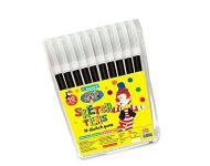 Luxor 949 - Set of 10 Single Colour Sketch Pens