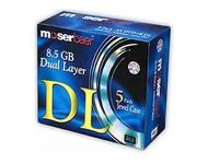 Moserbaer - Dual Double Layer 8.5Gb Blank Dvd