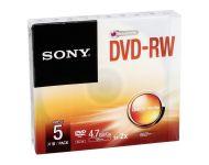 Sony - Dvd-Rw Jewel Case