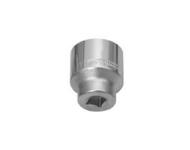 Jhalani D19 - 20 mm Bihexagon Chrome Plated Socket