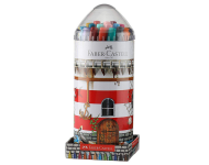 Faber Castell F1241394667001 - Lighthouse Tin Sketch Pens