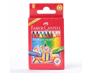 Faber Castell F1100201121016 - Pack of 16, 75 mm Regular Wax Crayons