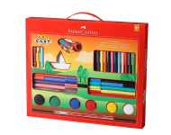 Faber Castell F1200300459001 - Art Cart Kit with Free Paint Brush