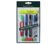 Faber Castell F1200300456001 - Home and Office Stationery Blister Kit