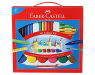 Faber Castell F1200300458001 - Art Colour Kit with Free Paint Brush
