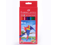 Faber Castell F1170248214012 - Pack of 12 Assorted Multicolour Pencils