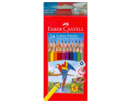 Faber Castell F1170248222024 - Pack of 24 Triangular Water Soluble Colour Pencils