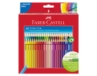 Faber Castell F1170248204048 - Pack of 48 Water Soluble Colour Pencils