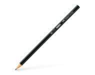 Faber Castell F5320626706010 - Pack of 10 1111 HB Black Matt Pencil