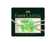 Faber Castell F9170355447024 - 24 Pitt Pastel Pencil Set