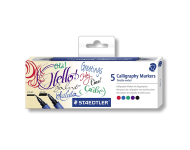 Staedtler 3002 C5 - Calligraphy Markers with Double Tip