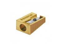 Staedtler 510 10 PR1 - Gold Heavy Metal Single Hole Sharpener