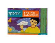 Apsara - 12 Colour Wax Crayon
