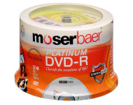 Moserbaer - DVD R Pack