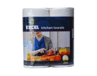 Excel 11502 - 20x23 cm 2 in 1 Kitchen Towel