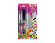Flair Inky Surfer - Blue Ink Liquid Fountain Pen