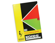 Kores - 210x330 mm 77 Standard Weight Black Type Writer Carbon Paper